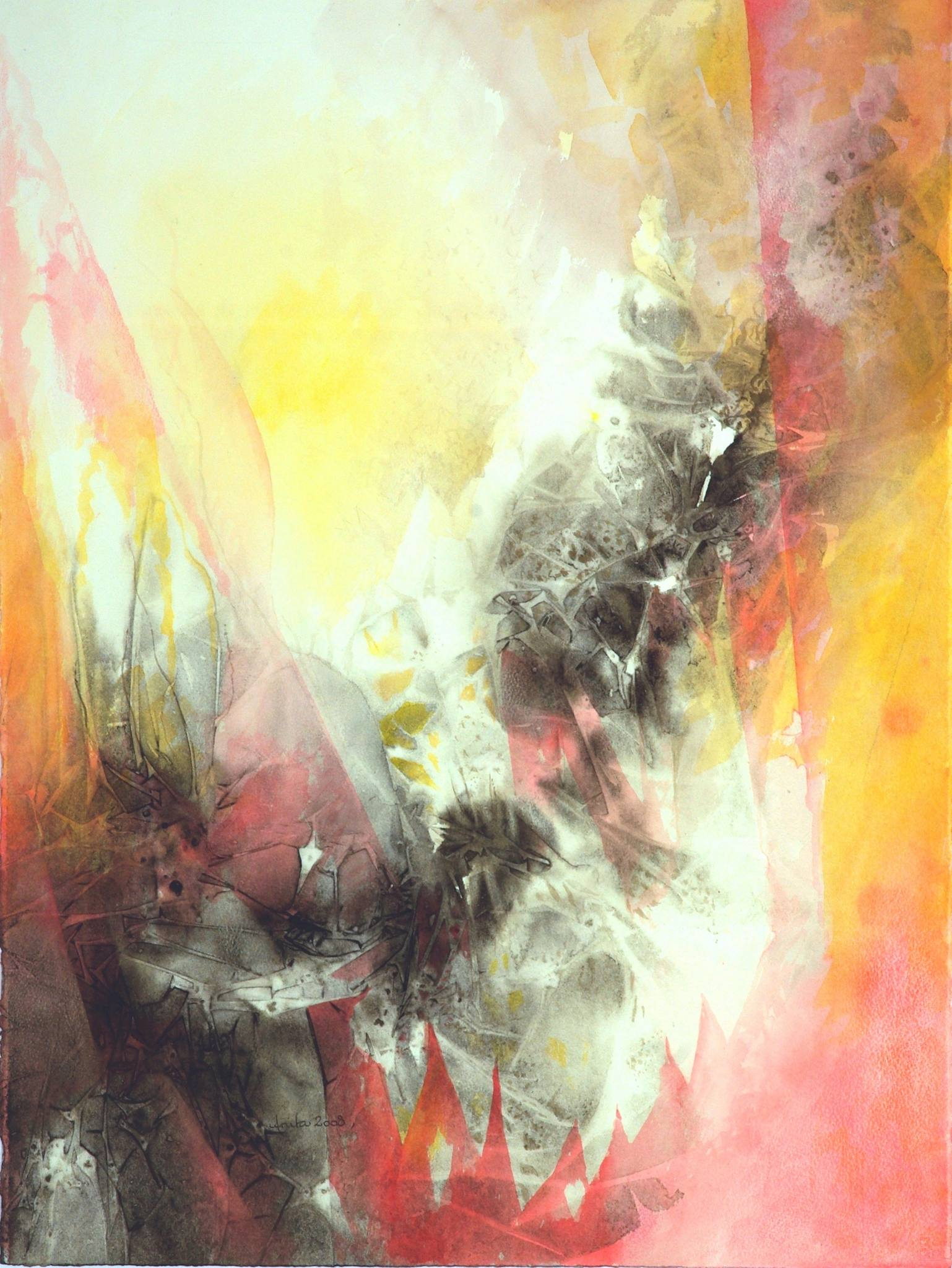 Inwards I, 76x57, 2008
