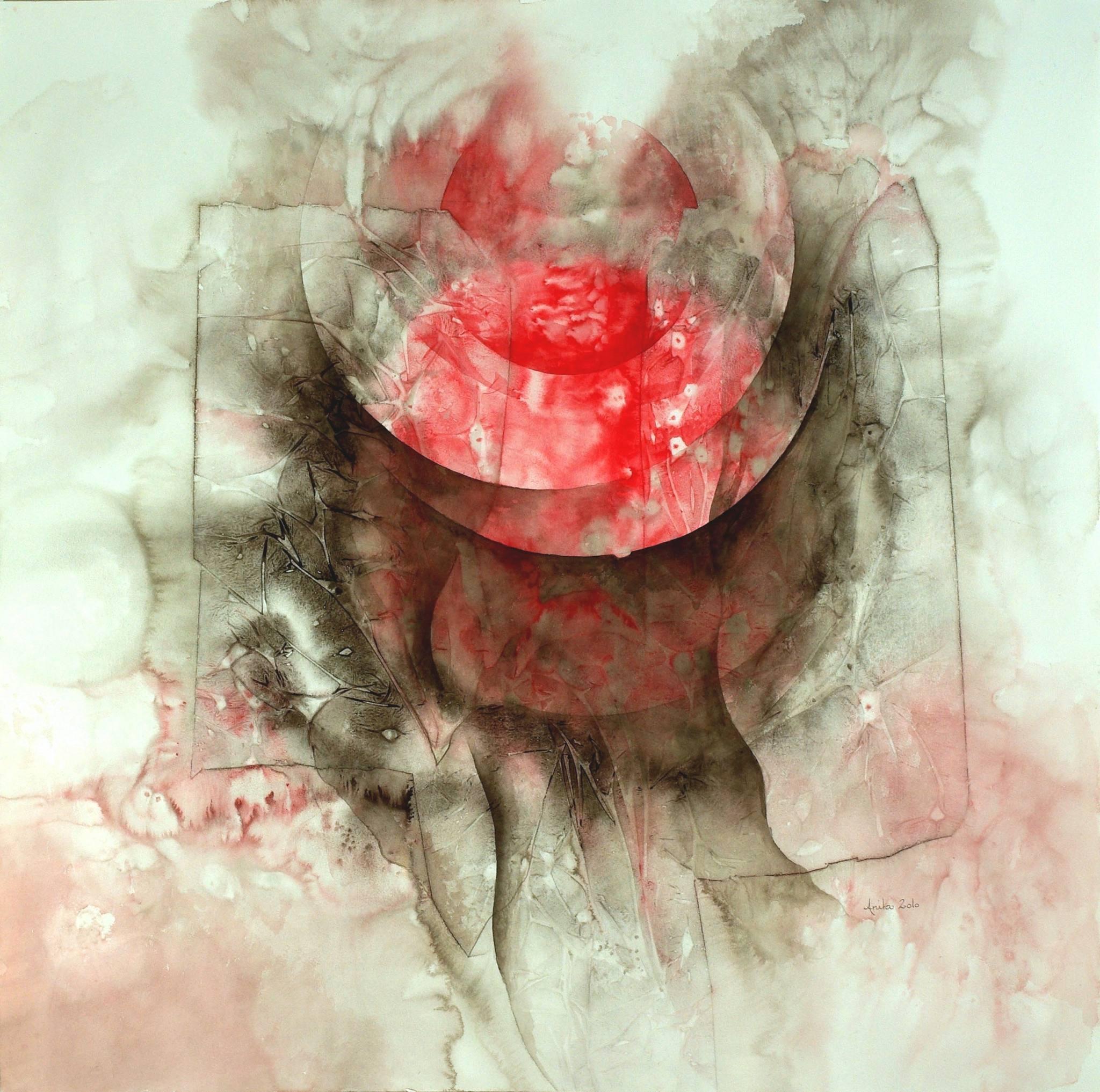 Vibrations II, 100x100, 2010