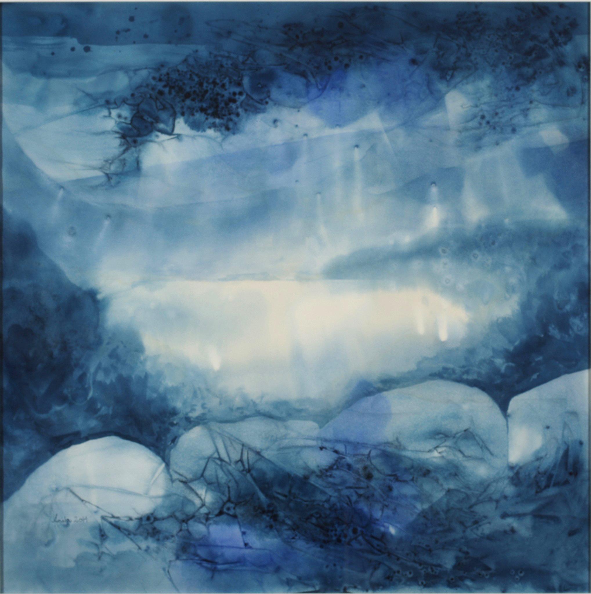 Winter I, 80x80cm, 2014