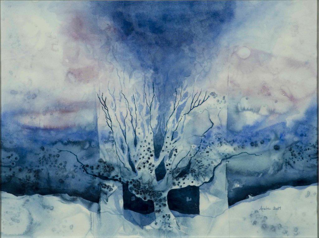 Wintertree, 62x80cm, 2014