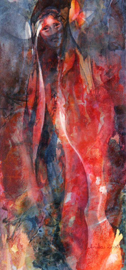 Meeting women III, 37x17,5cm, 2005